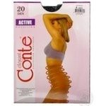 Conte Active 20 den Women's Nero Tights Size 4 - buy, prices for CityMarket - photo 3