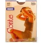 Колготи Conte Nuance 40 Den р.6 natural шт - купити, ціни на МегаМаркет - фото 1