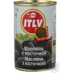 olive Itlv black with bone 280g can