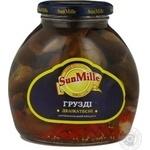 Mushrooms milk mushroom Sun mille pickled 580g glass jar China