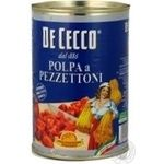Vegetables tomato De cecco tomato canned 400g can Italy
