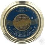 Caviar Barron boufin black for fish 113g glass jar Usa