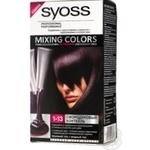 Фарба для волосся Syoss Mixing Colors 1-13 Смородиновий Коктейль
