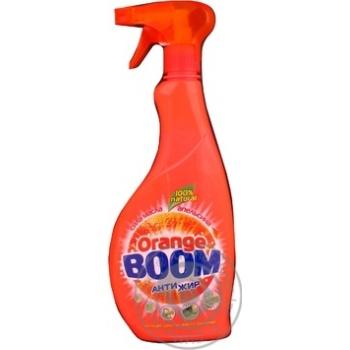 Засіб миючий Orange Boom унівкрсальний 650мл - купити, ціни на Novus - фото 3