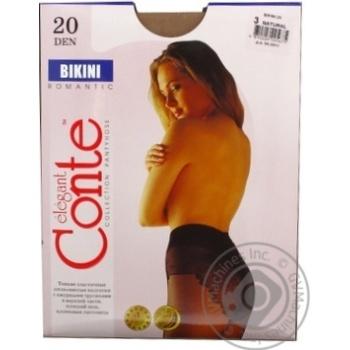 Колготы Conte Bikini 20 Den р.3 natural шт - купить, цены на Novus - фото 4