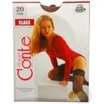 Conte Class Natural 20den Stockings size 3-4 - buy, prices for Novus - image 3