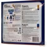 Бритва Gillette Fusion ProGlide Power+Гель для гоління зволожуючий 75мл+Бальз після гоління Gillette 3в1 SPF+15 50мл