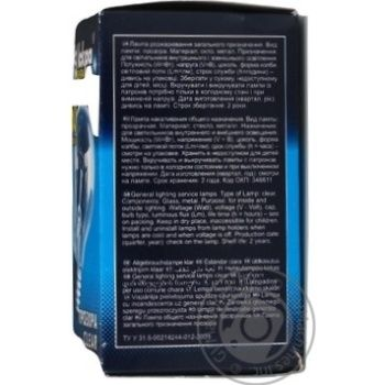 Лампа Искра А50 60Вт Е27 - купить, цены на Novus - фото 3