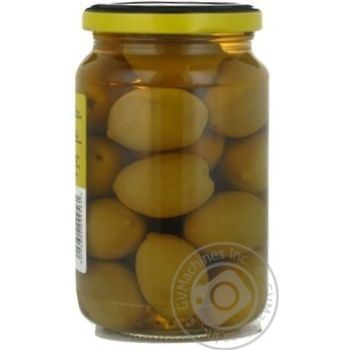 Оливки зеленые St.Michele с косточкой 355г - купить, цены на Novus - фото 5