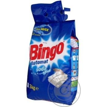 Стиральный порошок Бинго Сода Эффект автомат для всех типов стирки 3000г Украина