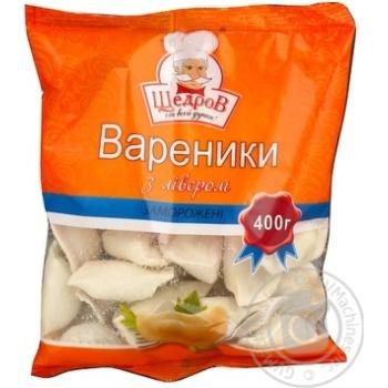 Вареник Щедров лівер заморожена 400г Україна