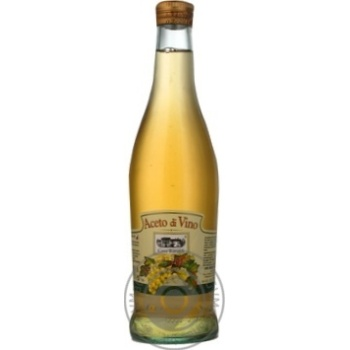 Уксус Casa Rinaldi винный белый 6% 500мл