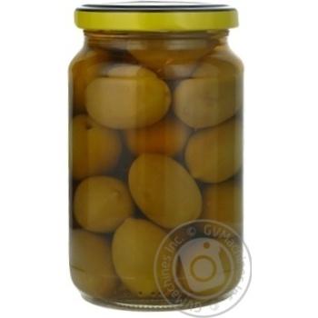 Оливки зеленые St.Michele с косточкой 355г - купить, цены на Novus - фото 6