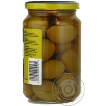 Оливки зеленые St.Michele с косточкой 355г - купить, цены на Novus - фото 8