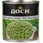 Vegetables pea Daucy green pea 425ml can Russia