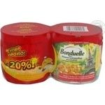 Vegetables corn Bonduelle Tender canned 2pcs 340g can Hungary