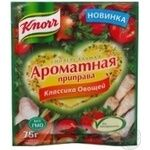 Приправа ароматна Knorr Класика овочів універсальна 75г