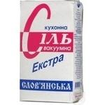 Сіль Слов'янська сіль Екстра 1кг
