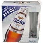 Beer Zipfer light 5.4% 330ml Austria