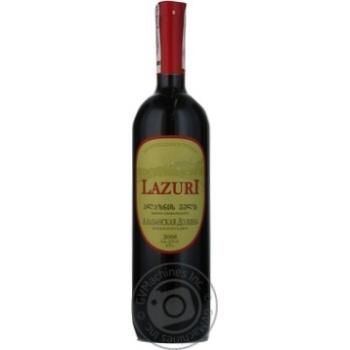 Вино червоне напівсолодке Алазанская Долина Lazuri 0,75л