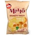 Чіпси Мачо Преміум картопляні зі смаком лісових грибів 75г Україна