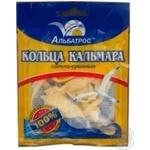 Squid rings Albatros salt 18g Ukraine