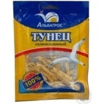 Snack tuna Albatros salted dried 36g Ukraine