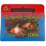 Корм для риб сухий гранули Природа Золота рибка 100г