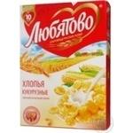 Flakes Liubiatovo corn 250g Russia