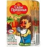 Puree Sady pridonia apricot for children 125g Russia