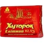 Масло Хуторок Елітне 82,5% 200г
