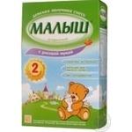 Суміш молочна Малиш Істринський 2 з рисовим борошном суха для подальшого годування частково адаптована для дітей з 6 місяців 350г Росія