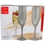 Бокал для шампанського Bormioli Rocco&Figlio Diamante 185мл 3шт