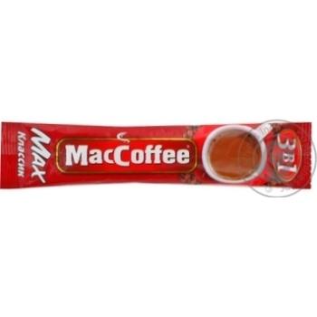 Напиток кофейный МакКофе 3в1 Макс Класик растворимый с сахаром и подсластителем в стиках 16г Сингапур - купить, цены на МегаМаркет - фото 6