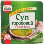 Суп гороховий зі смаком бекону Караван 160г - купить, цены на Novus - фото 3