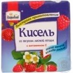 Kissel Caravan with berries for desserts 170g