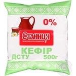 Кефир Станица 0% 500мл полиэтиленовый пакет Украина