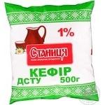 Кефір Станиця 1% 500мл поліетиленовий пакет Україна