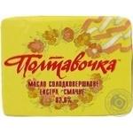 Масло Полтавочка Смачне солодковершкове екстра 82% 200г Україна