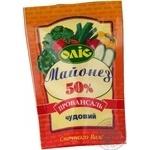 Mayonnaise Olis Chudoviy 50% 185g doypack Ukraine