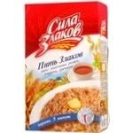 Flakes Sila Zlakov Five Cereals wheat rye barley oats buckwheat 400g Russia