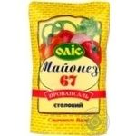 Mayonnaise Olis Provansal 67% 760g Ukraine