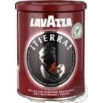 Natural ground roasted coffee Lavazza Tierra 250g Italy