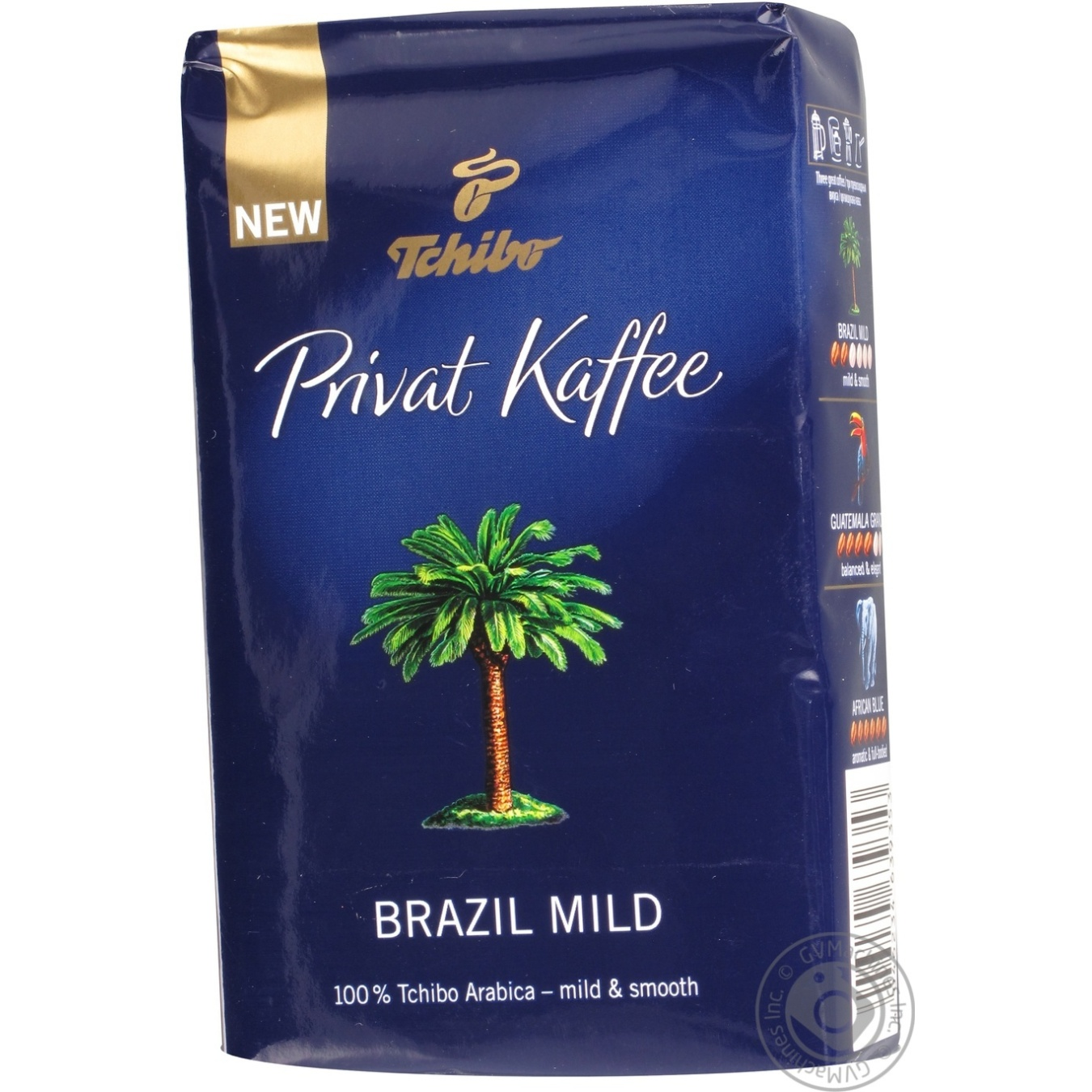 natural ground medium roasted coffee tchibo privat kaffee brazil mild 100 arabica 250g germany. Black Bedroom Furniture Sets. Home Design Ideas