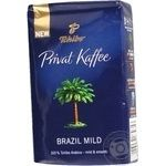 Natural ground medium roasted coffee Tchibo Privat Kaffee Brazil Mild 100% Arabica 250g Germany
