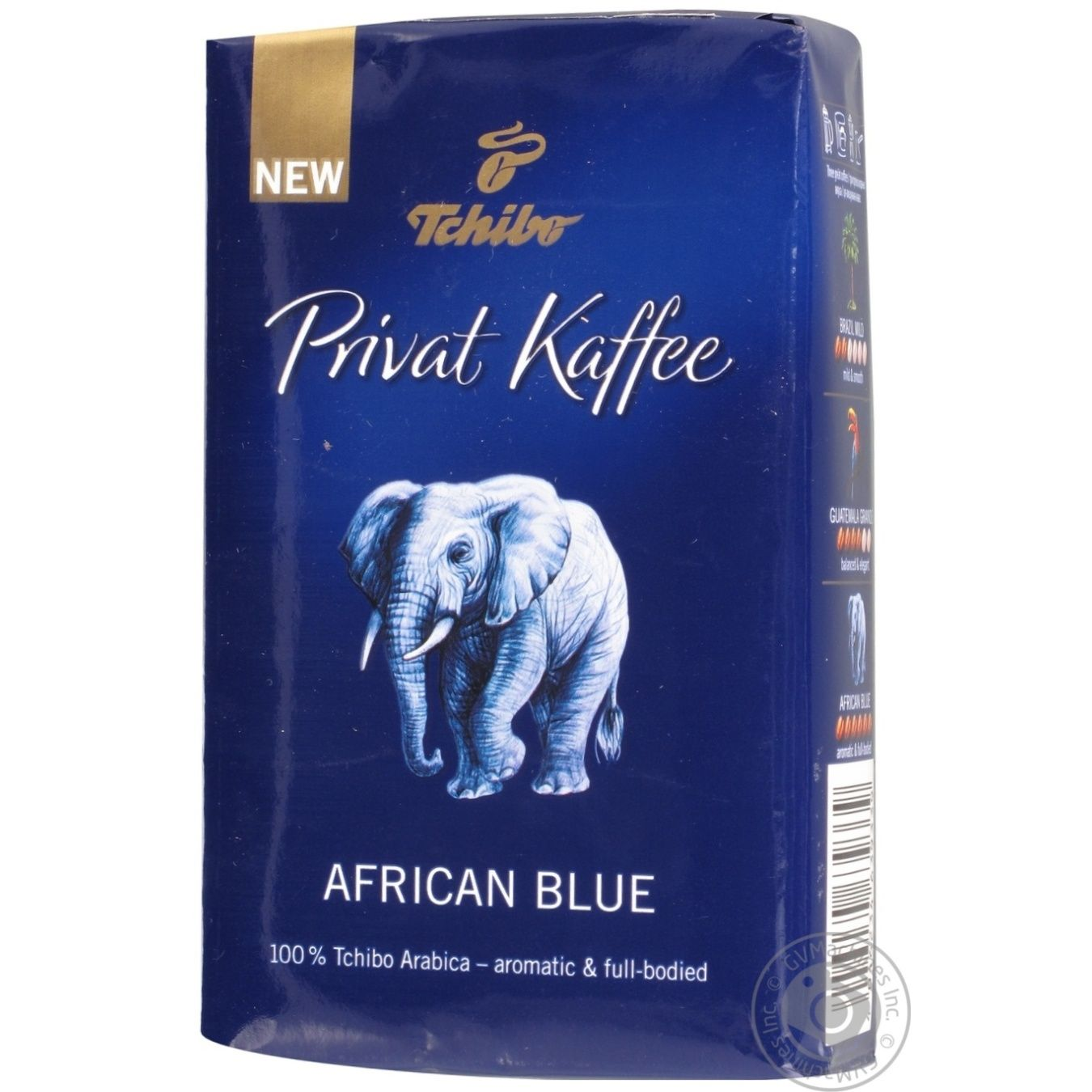 natural ground medium roasted coffee tchibo privat kaffee african blue 100 arabica 250g germany. Black Bedroom Furniture Sets. Home Design Ideas