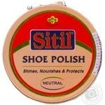 Sitil Cream Neutral For Shoes 50ml