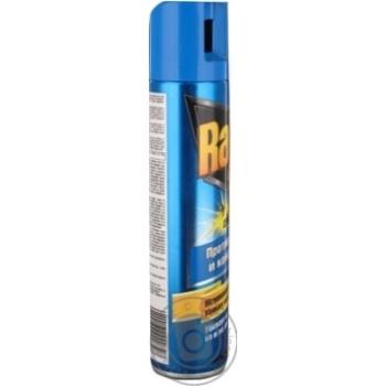 Аэрозоль Raid от мух пчел и комаров 300мл - купить, цены на Novus - фото 3