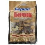 Snack gobies Bering salted dried 40g Ukraine