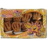 Cookies Bom-bik Crazy strawberries with cream leaf 400g